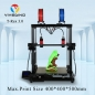 Preview: Vivedino Formbot T-Rex 3.0 - 400x400x500mm - Dual-extruder 3D Printer w. Laser Engraver (opt.) - 2