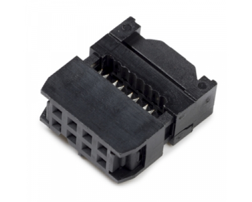 8 way connector without strain relief