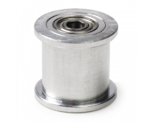 GT2 pulley with bearing (no teeth / 9mm belt / 5mm ID) - Buy