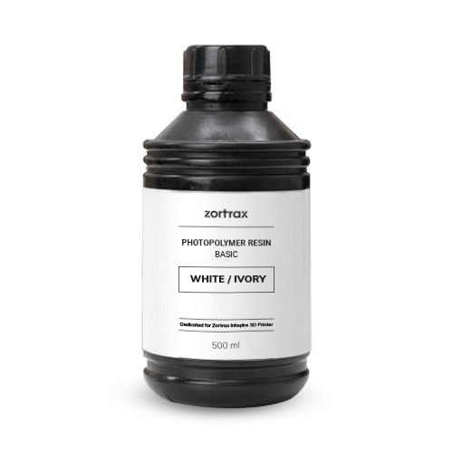 Zortrax Resin BASIC for Inkspire 500 ml