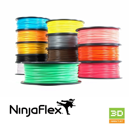 SemiFlex 3D filament - 3mm flexible TPE - 0,75KG