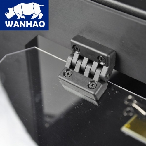 Wanhao Duplicator 4S 3D Printer in Metal Frame Black Case Dual Extruder
