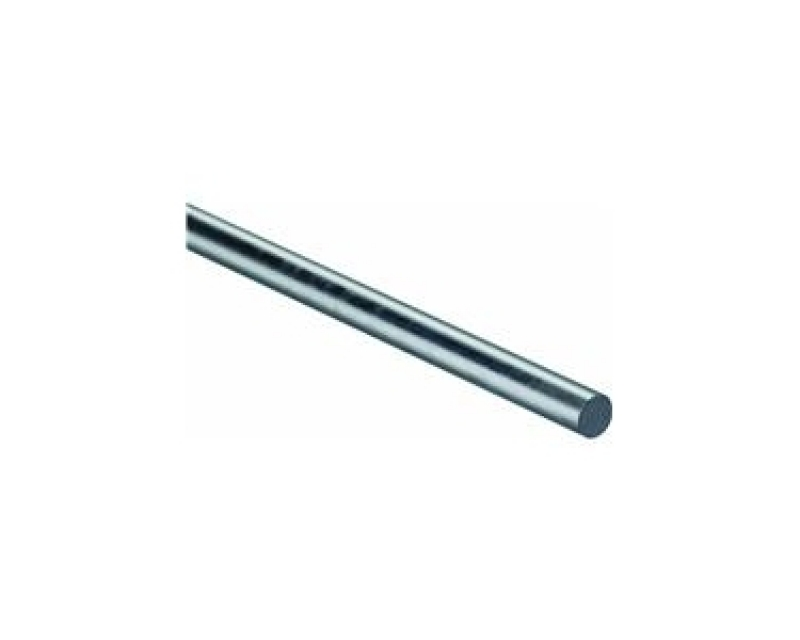 10 mm Hardened steel smooth rod chromed ( 25 cm )