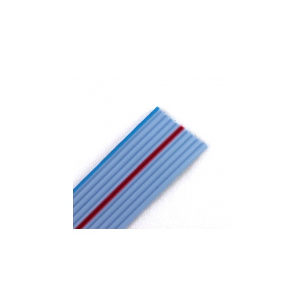 10 wire flat ribbon cable blue (10cm) - Buy it now!