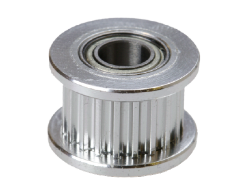 GT2  pulley (driven) with bearing (20 teeth / 6 mm belt / 5 mm ID)