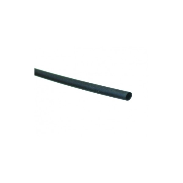 Heatshrink Black 20cm, 1.6mm bore, 0.8mm shrunken