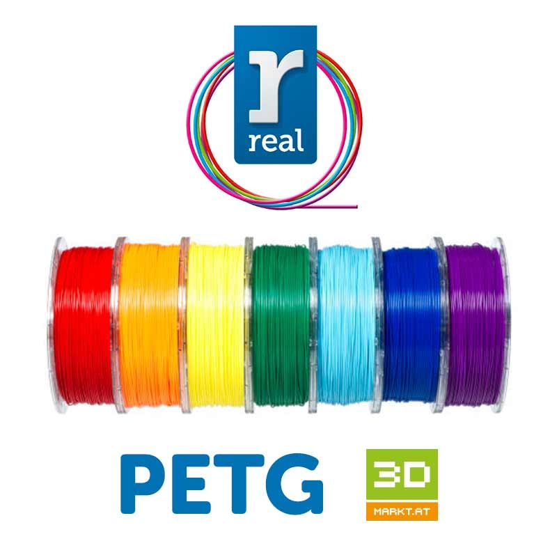 PETG Filament 2.85 mm / 1 kg Real