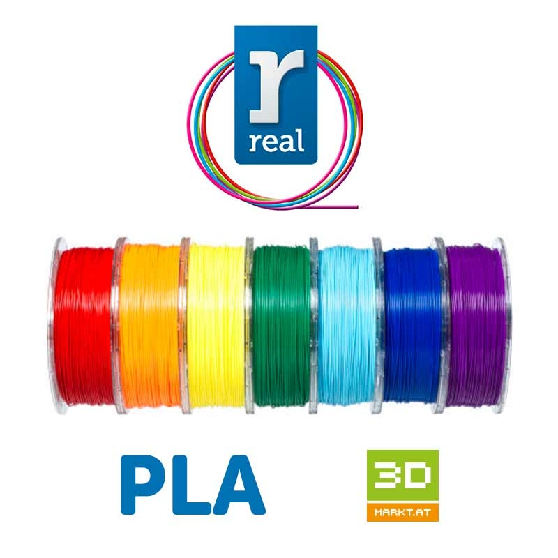 PLA filamento 1.75 mm / 1 kg Real